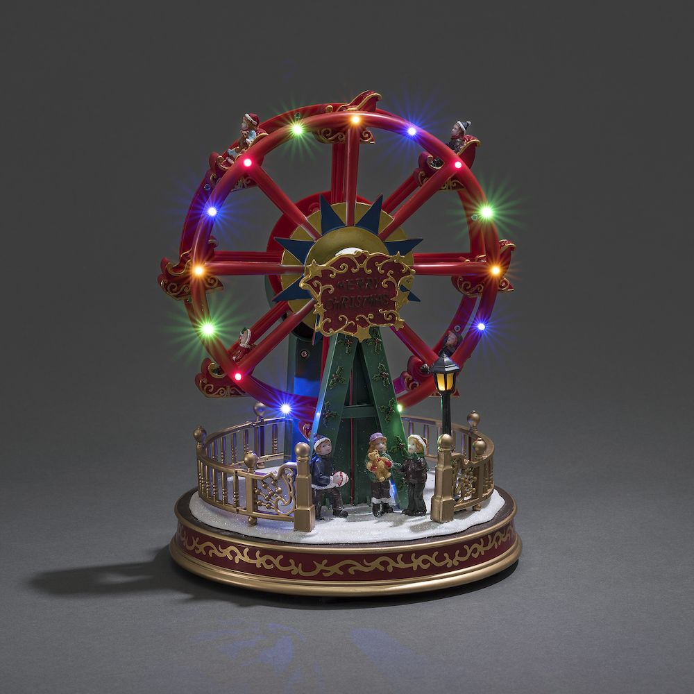 mechanical christmas decor led - Christmas Ferris Wheel Decoration